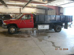 1994 Dodge Ram 3500 Cab Chassis Dump Truck 2WD